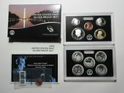 2019-s Us Silver Proof Set - 11-coin W/ Reverse Proof Lincoln Cent