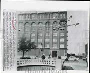 1967 Press Photo Witness Locations During John F. Kennedyand039s Assassination Texas