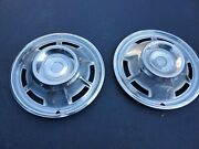 1967 Chevrolet Chevy Camaro 14andrdquo Hubcaps Wheel Covers Center Caps And03967 Set Of 2
