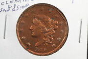 1835 Coronet Large Cent Old Cleaning Small 8 And Stars