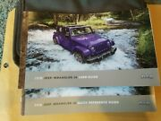 2018 Jeep Wrangler Jk Owners Manual And Case Quick Ref