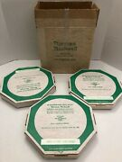 Norman Rockwell1973 Limited Edition Four Seasons Collectible Plates W/ Boxes