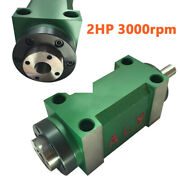5 Bearing Spindle Unit 1.5kw 2hp Cnc Drilling Milling Power Head 3000rpm Steel