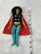 Mego Action Figure Conan In Thors Costume. Missing A Finger As Is For Parts