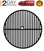 New 18-inch Round Matte Cast-iron Grill Cooking Grate For Large Big Green Egg