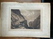 Three Jmw Turner Etchings From The Liber Studiorum Signed In Pencil