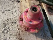 Oliver 70 Tractor Original Front Left Wheel Hub Rim To Spindle And Bolts And Cap