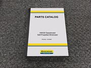 New Holland Hw320 Speedrower Self-propelled Windrower Parts Catalog Manual