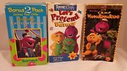 Vhs Barneyand039s Exercise Circus And Parade Of Numbers Bonus 2 Pack 1996 Oop 0703 +2