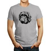Wirehaired Pointing Griffon Face Special Graphic T-shirt