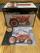 Precision Series 1930s Farmall F-20 Highly Detailed With Antique Crank Starter