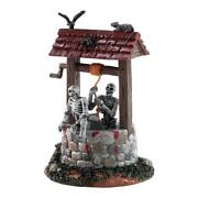 Spooky Town Ghouls In Well By Lemax Halloween Gruesome Wishing Well