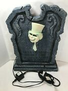 Disneys Haunted Mansion Phineas And Dave Ghost Light Up Tombstone Big Fig