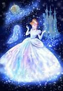 Discontinued Stained Art 1000 Piece Wrapped In Magical Light Cinderellaq