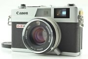 【 Exc+4 】 Canon Canonet Ql17 Giii G3 35mm Rangefinder Film Camer From Japan 222