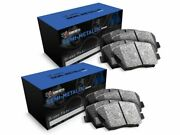 For 12-2007 Jeep Wrangler R1 Concepts Front Rear Semi-metallic Brake Pads