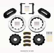 Wilwood Tx6r Front Kit 16.00in Black 1999-2014 For Gm Truck/suv 1500 140-13876