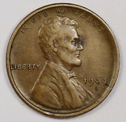 1909-s Lincoln Head Cent. Natural Uncleaned. Xf. 164590