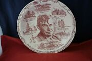 Vintage Will Rogers 10-1/4 Collector Memory Plate 1879-1935
