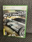Need For Speed Most Wanted - Xbox 360 Game - Complete And Tested