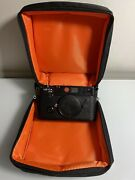 Leica M6 Classic 0.72 35mm Rangefinder Film Camera Body With New Soft Case.