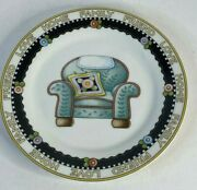 Vintage 2001 Mary Engelbreit - Love, Home, Family, Friend Plate - Chair 8 Inch