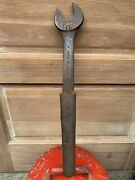 Antique Willams Railroad Wrench 20.5andrdquo Heavy 7lbs