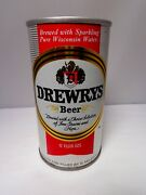 Drewrys Straight Steel Pull Tab Beer Can 59-31 Sparkling Pure Wisconsin Water