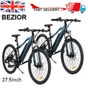 2pcs 27.5 Inch 250w Power Assist Electric Bicycle Moped E Bike Commuting H0s8