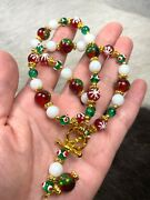 Christmas Necklace Christmas Tree Snowflake Choker Necklace 17.50 +2 Ext
