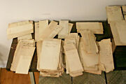 250+ Connecticut Town / Tax Documents, Many Rev War Names Mentioned, 1790-1837
