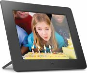 Aluratek 8 Lcd Digital Photo Frame W/4gb Built-in Mem And Usb Sd/sdhc Support Blk