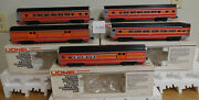 Lionel 9589 To 9593 Southern Pacific Daylight 15 Aluminum Passenger Train 5 Car