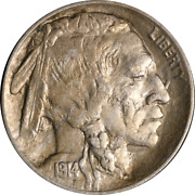 1914-p Buffalo Nickel Great Deals From The Executive Coin Company
