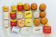 23x Mcdonalds Changeables Food Transformers All Different Happy Meal Vintage Lot