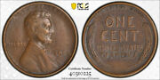 1922 No D 1c Strong Reverse Lincoln Wheat Cent Pcgs Xf 40 Extra Fine Cac Appr...