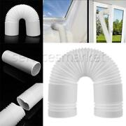 2/3pcs Window Adaptor Kits Plate/exhaust Hose/tube For Portable Air Conditioner