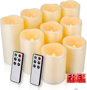 Flameless Candles Led Candles Outdoor Candles Waterproof Candlesd 3 X H 45