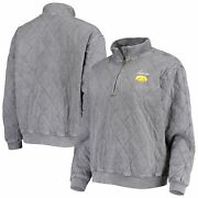 Iowa Hawkeyes Gameday Couture Womenand039s Unstoppable Chic Quilted Quarter-zip