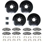 Apex One Front And Rear Performance Series Rotors With Friction Point Ceramic