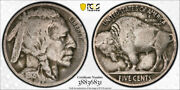 1918/7 D 5c Buffalo Head Nickel Pcgs Vg 8 Very Good 1918/17-d Cac Approved