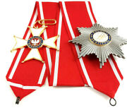 Polish Order Of Polonia Restituta Commanders Cross With Star Poland 1944 Rp