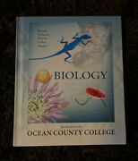 Biology 10th Edition Special Edition For Ocean County College Book Excellent