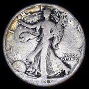 Usa 1933-s Walking Liberty 50 Cent Silver Coin