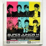 Autographed Super Junior-m Perfection Taiwan Cd Dvd 64p Booklet 2011