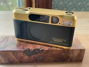 Contax T2 Gold 60 Years Limited Edition 35 Mm + Data Back ++excellent Condition