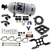 Nitrous Express 66047-10 Dual Stage Billet Crossbar Plate System