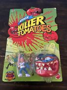 1991 Mattel Attack Of The Killer Tomatoes Chad Tomacho Figures Toy