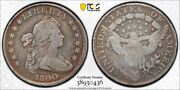 1800 1 Draped Bust Dollar Pcgs Vg 8 Very Good Early Us Type Coin