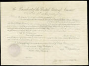 Martin Van Buren - Diplomatic Appointment Signed 12/20/1840 With Co-signers